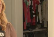 O fata de 11 ani a descoperit un barbat urmarit de politie in dulapul ei