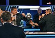 Un jurnalist polonez a fost batut intr-o emisiune tv din Rusia pentru ca a laudat Romania