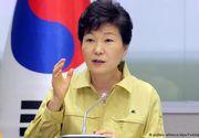 Presedinta Coreei de Sud a fost suspendata de Parlament