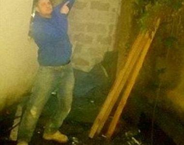 Un student beat a fost grav ranit dupa ce a cazut prin acoperisul unei case