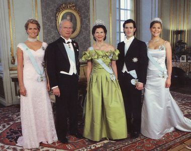 Regina Silvia a Suediei a fost internata intr-o clinica din Stockholm