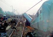India: Cel putin 43 de persoane au fost ranite dupa ce un tren a deraiat