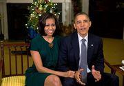 Michelle Obama poarta bijuteriile create de o romanca