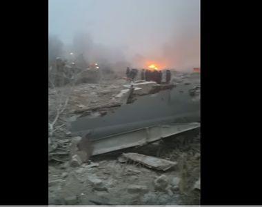 Tragedie aviatica de proportii. Cel putin 32 de oameni au murit, dupa ce un avion s-a...