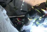 Patru persoane au supravietuit in mod miraculos sub runele hotelului distrus dupa avalansa din Italia. Au stat sub daramaturi trei zile