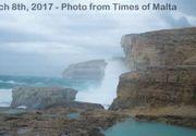 Veste devastatoare! Fereastra de Azur, din Malta, s-a prabusit in mare