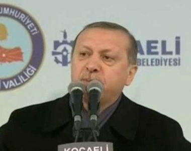 Razboi rece intre Turcia si Olanda! Presedintele Erdogan a criticat dur reactiile...