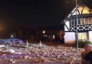Explozie in Marea Britanie, la Liverpool: 34 de persoane ranite si mai multe cladiri distruse