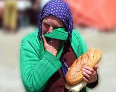 Republica Moldova, tara unde pensia batranilor este echivalentul a 100 de paini pe luna