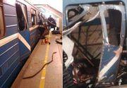 Panica la metrou! Mai multe persoane au fost ranite, dupa o explozie puternica la o statie de metrou din Sankt Petesburg. 10 oameni au murit si 37 au fost raniti