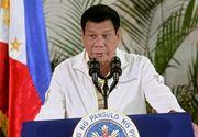 """Declaratie surprinzatoare a presedintelui filipinez: """"Care dintre voi nu are amante?"""""""