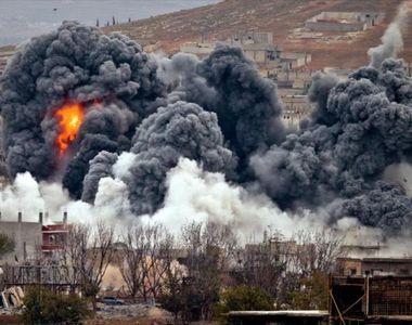 SUA au atacat Siria, in urma atacului chimic in care au murit peste 100 de persoane....