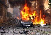 Bilantul atentatului sinucigas cu camioneta-capcana asupra unui convoi de evacuati sirieni a ajuns la 112 morti