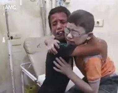 Cel putin 68 de copii se numara printre cei 126 de oameni ucisi in atacul care a vizat...