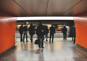 Mii de navetisti blocati la Londra in urma unui incendiu care a condus la inchiderea statiei Euston