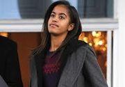 Fiica lui Barack Obama a fost ceruta in casatorie. Barbatul care voia sa o ia de sotie a fost arestat
