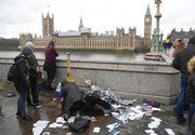 Atac armat la Londra, chiar in zona Parlamentului - Politia este in alerta, un suspect a fost deja retinut