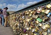 """""""Lacatele iubirii"""" din Paris, scoase la licitatie pe 13 mai"""