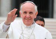 """Papa Francisc ii cearta pe americani: """"Cuvantul mama nu ar trebui folosit pentru a descrie o bomba"""""""