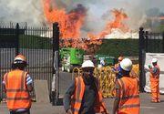 Panica pe Wimbledon! 20 de pompieri au ajuns la fata locului pentru a stinge un incendiu de proportii