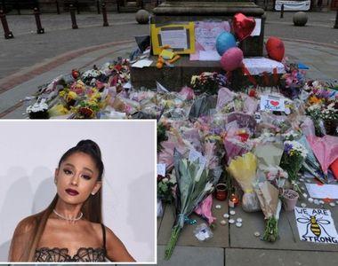 Cantareata Ariana Grande va sustine la Manchester un concert caritabil in memoria...