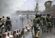 Explozii la funeraliile unui fiu al unui senator ucis la protestele de la Kabul
