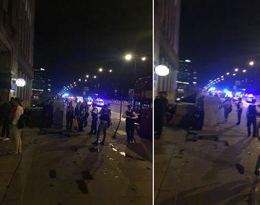 Teroare in Londra la London Bridge si Borough Market. Sapte  morti si 48 de raniti....