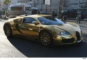 Politistii au oprit un Bugatti suflat cu aur care rula cu viteza mica pe sosea. Au fost mirati cand au vazut cine e soferul