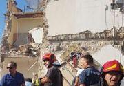 Mai multe persoane sunt ingropate sub daramaturi, dupa ce un bloc de apartamente s-a prabusit in apropiere de Napoli