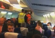 Insotitor de bord internat dupa ce a fost batut de un pasager