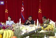 Aparitie surpriza! Sotia lui Kim Jong-un, pentru prima data in public dupa o disparitie de 9 luni! Iata imaginile