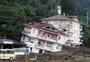 Cel putin opt morti si peste 20 de persoane prinse sub daramaturi in urma surparii unui imobil