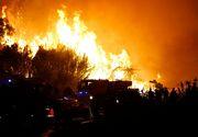 Peste 10.000 de persoane au fost evacuate in timpul noptii din cauza incendiilor de vegetatie din Corsica si sudul Frantei