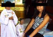 Un preot catolic a intretinut relatii sexuale cu o minora de 13 ani pe care a cumparat-o de la un proxenet, tot minor, la pretul unui pachet de tigari