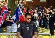 Ciocniri violente au izbucnit intre fortele de ordine si extremistii de dreapta din Charlottesville