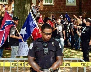 Ciocniri violente au izbucnit intre fortele de ordine si extremistii de dreapta din...