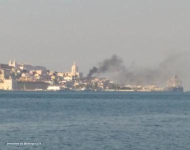Cinci persoane, printre care francezi germani, raniti intr-o explozie la Lisabona