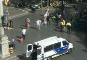 Mister in cazul barbatului mort din masina ce a ranit un politist la un punct de control din Barcelona