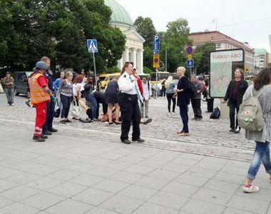 Trecatori injunghiati pe strada in Finlanda: Doi morti si cel putin sase raniti