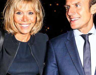 """""""Eu cu ridurile mele, el cu prospetimea lui"""". Brigitte Macron, Prima doamna a Frantei,..."""
