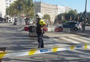 Politia a evacuat Placa de Catalunya, din Barcelona, la patru zile dupa atacul terorist