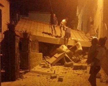Cutremur cu magnitudine 4 in Ischia: doi morti si 25 de raniti. Bebelus de 7 luni...