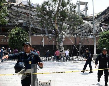Cutremur puternic in Mexic! Cel putin 150 de persoane au murit