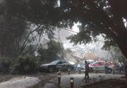 Momente incredibile de panica! Filmarea in care un bloc se prabuseste, in Mexic, dupa cutremur, a fost publicata pe Twitter