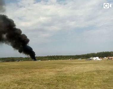 Tragedie aviatica! 10 persoane au murit dupa ce un avion militar s-a prabusit in Congo