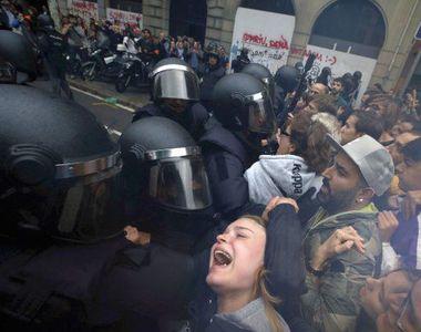 Referendum in Catalonia: 844 de persoane au fost ranite in urma confruntarilor cu...