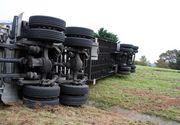 Microbuz plin cu romani, implicat intr-un accident grav in Belgia. Opt persoane sunt ranite