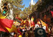 Peste 950.000 de persoane la manifestatia de la Barcelona pentru unitatea Spaniei. Mario Vargas Llosa: Separatistii nu vor distruge democratia spaniolă
