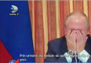 Un ministru rus l-a facut pe Vladimir Putin sa izbucneasca in hohote de ras, in timpul unei sedinte