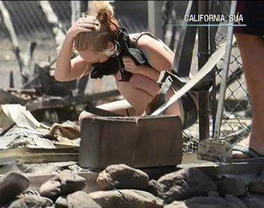 Infernul s-a dezlantuit in California! Sunt 36 de morti si peste 600 de persoane...